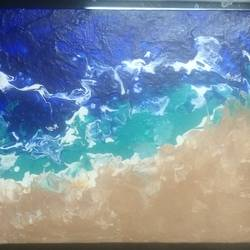 Ocean Beach  size - 12x12In - 12x12