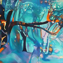 Colour of the Universe XI size - 57x39In - 57x39
