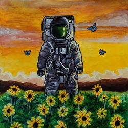 The Other Astronaut size - 8.3x11.7In - 8.3x11.7