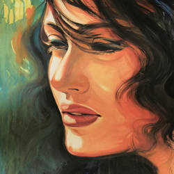 The Face of Glory -Zoya- Art Student size - 23x36In - 23x36