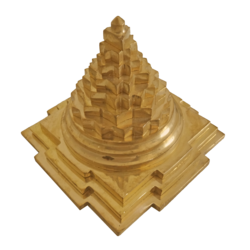 Decorative Pure Brass Pyramid Statue (Small) size - 2x3In - 2x3