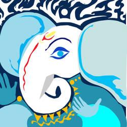 Ganesha - 8x11