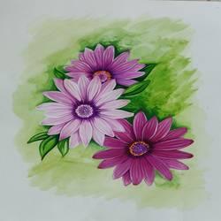 Flowers - 17x13