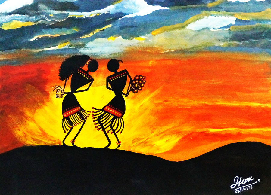 surprises in love, 28 x 20 inch, shoaib choudhary,28x20inch,canvas board,abstract paintings,figurative paintings,modern art paintings,conceptual paintings,illustration paintings,love paintings,warli paintings,paintings for dining room,paintings for living room,paintings for bedroom,paintings for hotel,paintings for school,paintings for dining room,paintings for living room,paintings for bedroom,paintings for hotel,paintings for school,acrylic color,ADR18066029427,surprises in love,ADR18066029427