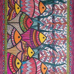 Indradhanushi Jal Pari - 8x11
