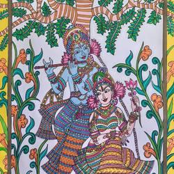 Radhe Mohan Leela - 11.8x16.5