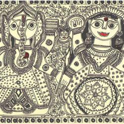 Lakshmi Ganesha Sath sath - 11.5x8.5