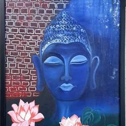 Symbol of peace Budhha - 20x24
