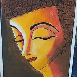SYMBOL OF PEACE BUDHHA - 8.27x11.69