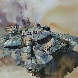 TANK,INDIAN ARMY - 15x11