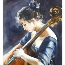 MUSICIAN,RYTHM OF LOVE - 13x18