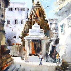 JAGDISH TEMPLE,INDIA - 15x11