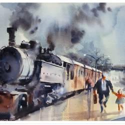THE TRAIN - 15x11
