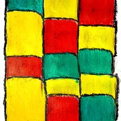 Rasta Boxes / Modern Art  - 8.3x11.7