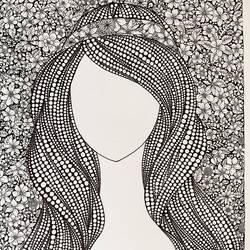 Blossom Girl - 16x11.6