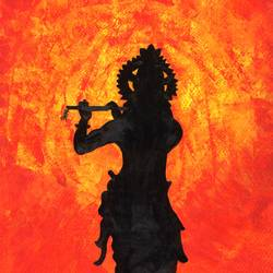 Achutam Keshavam Krishna Damodaram - 11x15
