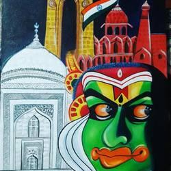heritage of india - 18x24