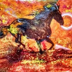 Gallop to the Sun - 35x24