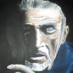 OLD MAN PORTRAIT - 8.27x11.69