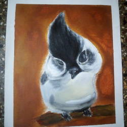 BIRD PAINTING - 8.27x11.69