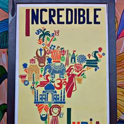 incredible india poster - 14x22