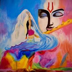 Lord Krishna - 12x16.5