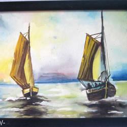 Boat - 14x10