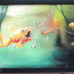 fish - 14x10