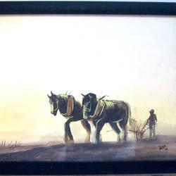 Horse - 14x10