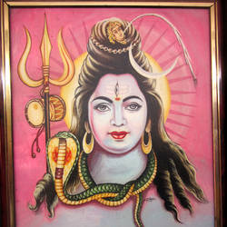 Lord Shiva - 8x10