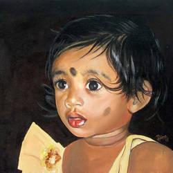 The Beautiful child - 10x8