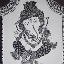Ganesha  - 11.7x16.5