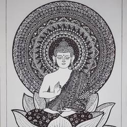 Buddha - 11.7x16.5