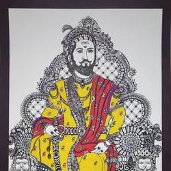 Chhatrapati Shivaji Maharaj - 11.7x16.5