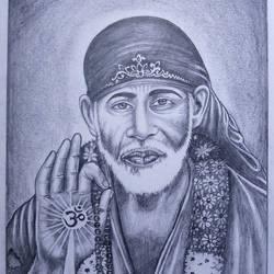 Sai Baba - 8x11