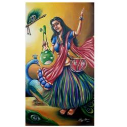 Krishna Diwani - 17.5x30