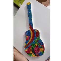 guitar painting - 8.2x11.7