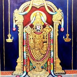Lord Venkateswara  - 22x28