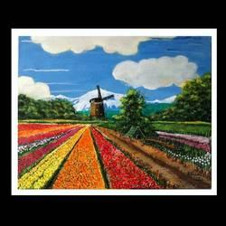 Himalayan tulip garden - 20x16