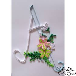 letter A - 8.2x11.7