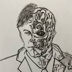 Two face  - 8x11