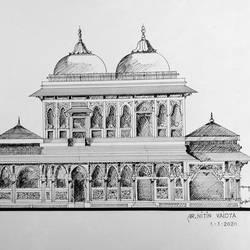 Architectural fine art - 15x11