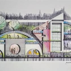Modern Architectural design - 8x18