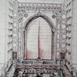 Architectural fine art - 8x11