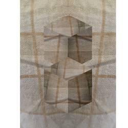 Digital textile creation  art print by AdroitArt