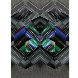 Digital crazy eyez  art print by AdroitArt
