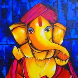 Ganesha - 14x18