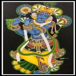 Mural krishna - 36x24