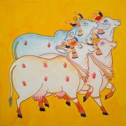 Cows - 12x12