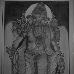 Ganesh - 10x13
